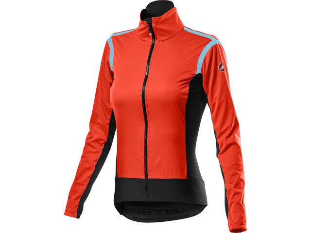 Castelli Alpha RoS 2 Light Jacket Women fiery red